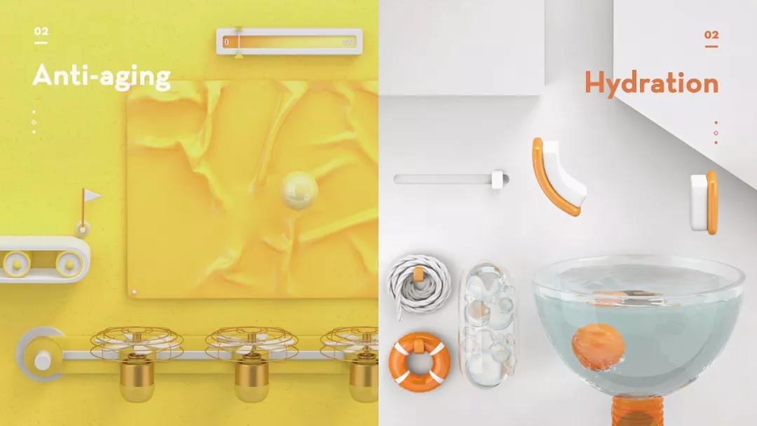 有趣的动力学短片,适合介绍产品工艺流程动画制作
