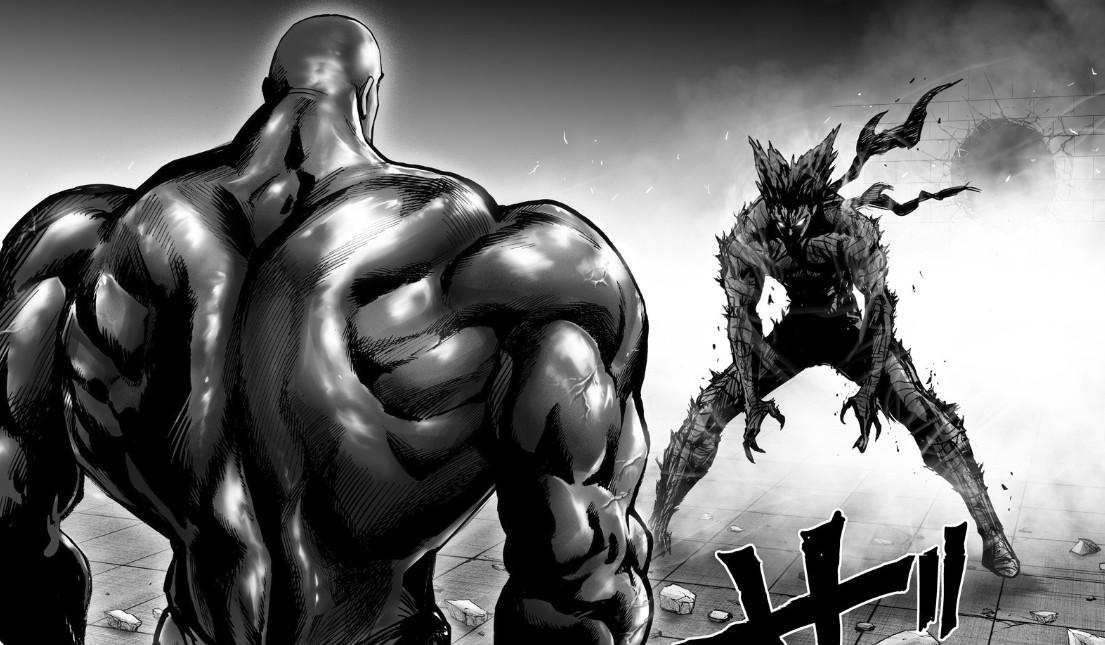 《一拳超人》163话:黑光VS饿狼 童帝再战龙级怪人
