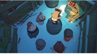 奈飞发行其第一部动画电影 重现经典绘画方式