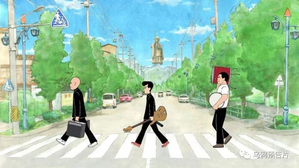 1人全手绘完成的动画电影《音乐》发布正式预告