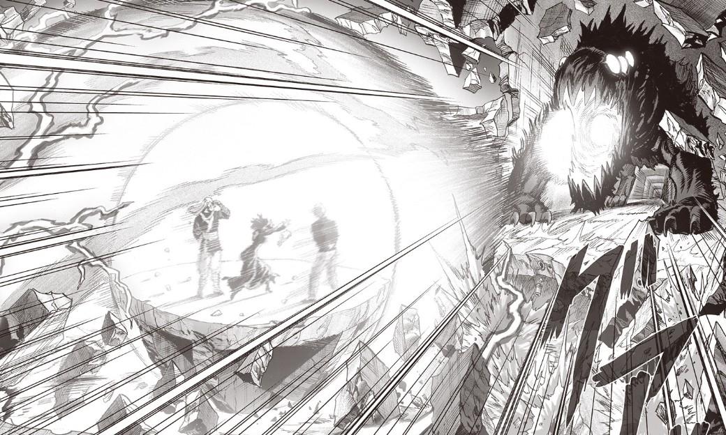 漫画《一拳超人》165话:S级英雄惨被虐 龙卷依旧强力
