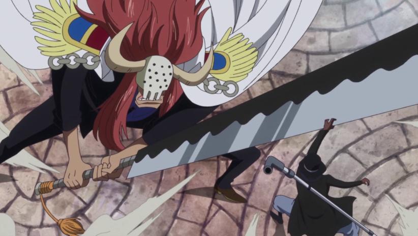 海贼王中10大武装色霸气高手,萨博龙爪开山碎石,一人铁拳无双