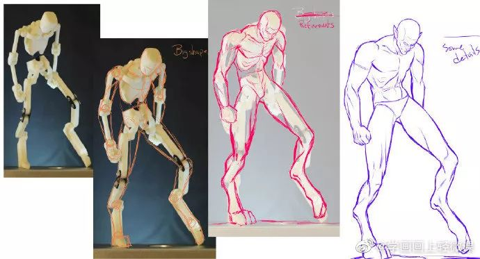 800+人体姿势的参考素材分享! 人物应该怎么画?