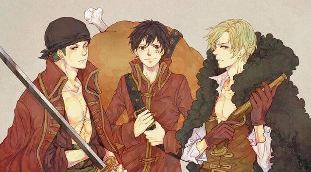 海贼王:路飞的三人组合,除了ASL,还有与基德、罗的时代组合!