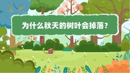 『為什麼秋(qiu)天的樹(shu)葉會掉落?』冒個(ge)炮十萬個(ge)為什麼動漫視界