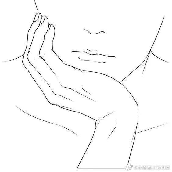 如果你的手画这样?这堆手势素材不能错过