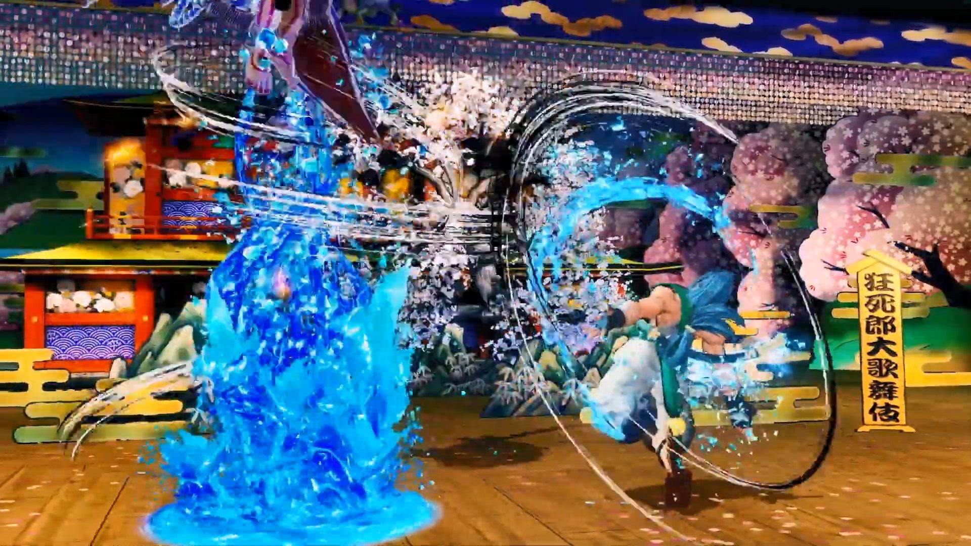水之力操控者 《侍魂:晓》风间苍月4月2日上线