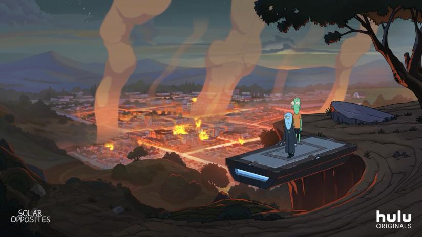 《瑞克与莫蒂》主创新作《外星也难民》预告片公开