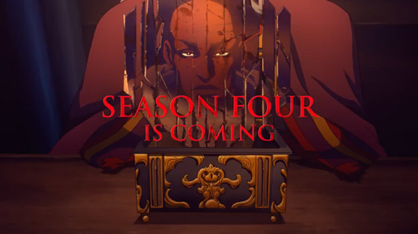 Netflix官宣续订原创动画《恶魔城》系列第四季