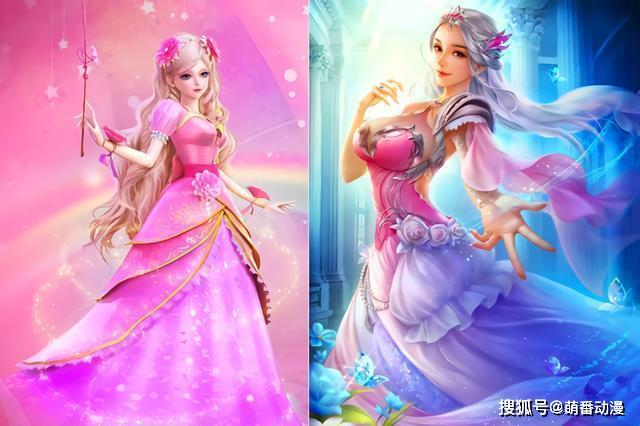 动画中的叶罗丽仙子的确很美,但画师笔下的她们更加美艳动人