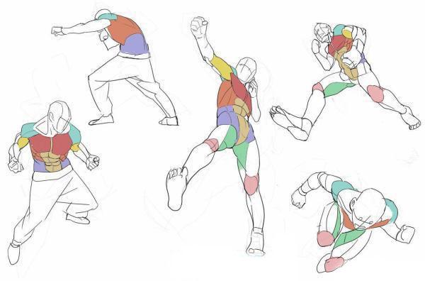 动漫人体比例怎么画?画人体比例有技巧?