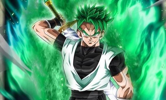 龙珠:超绿布罗利也属于神之领域?超蓝悟空、贝吉塔联手都被压制