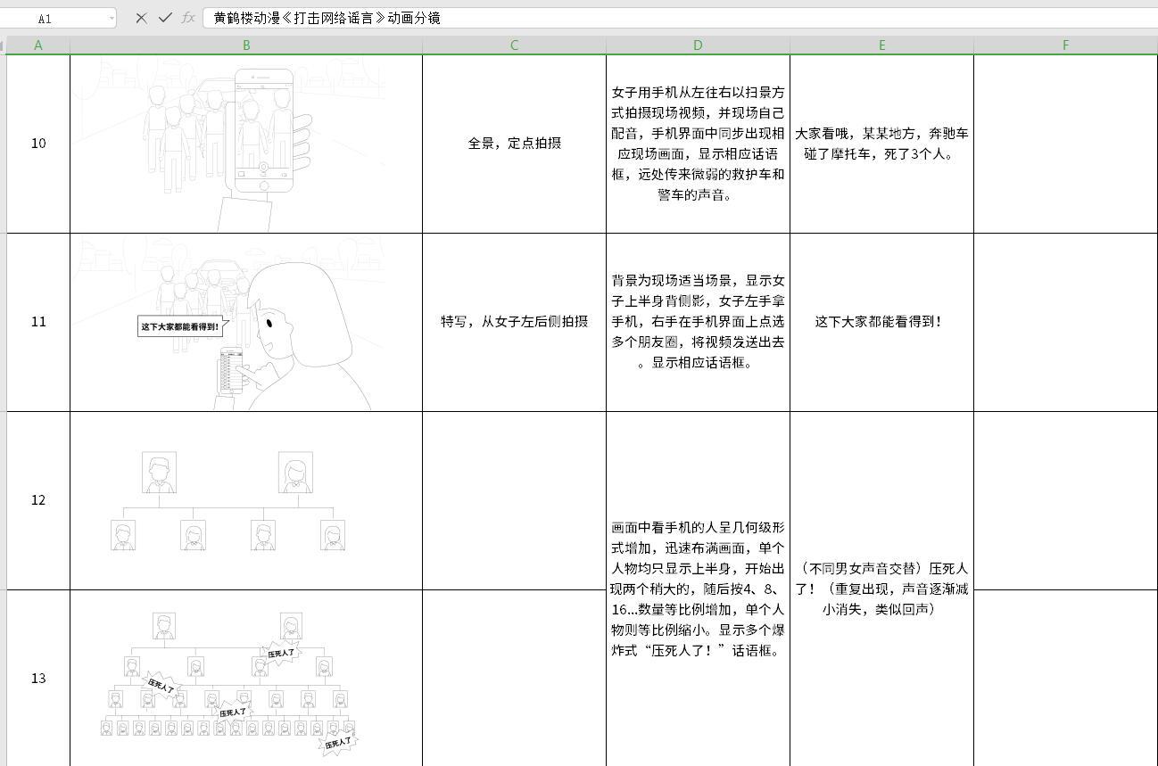 《扫黑除恶——严打网络谣言》分镜头10-13.jpg