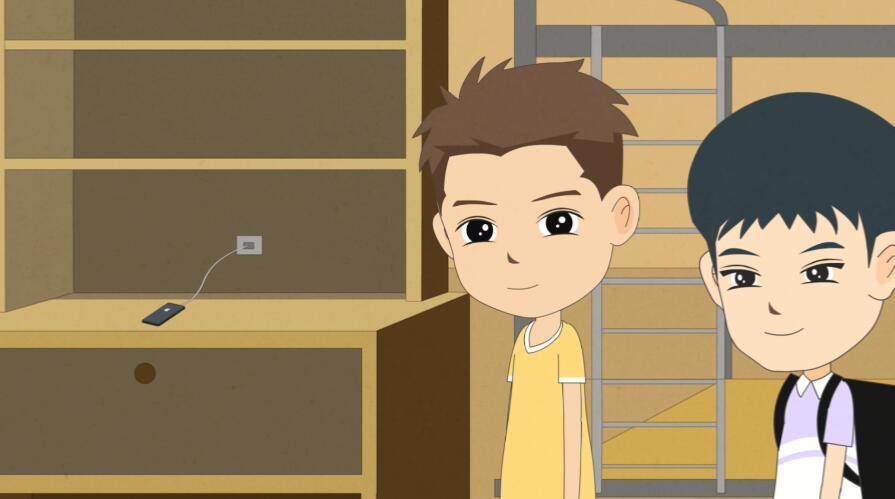 Flash动画制作《盗窃罪》法制宣传科普动画片场景设计顺走手机.jpg