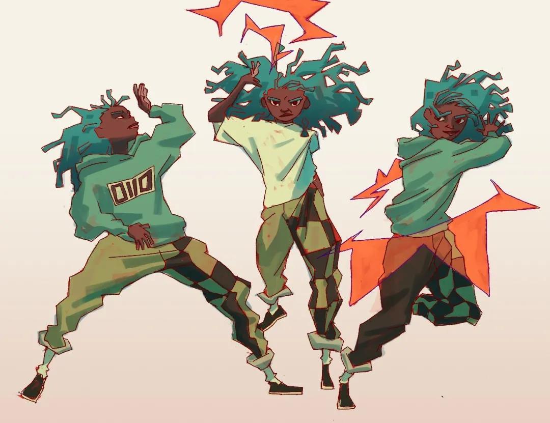 科特迪瓦角色设计与插画师:少年们的盛夏青春.jpg