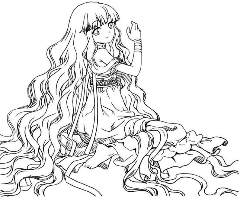 手绘美少女漫画入门-卷发的画法步骤教程d8.jpg