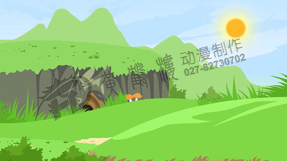 兔子坡动画片制作兔子巢穴