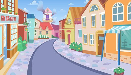 动画制作《豆蔻镇的居民和强盗-塔上失火》原画分镜头场景设计发布