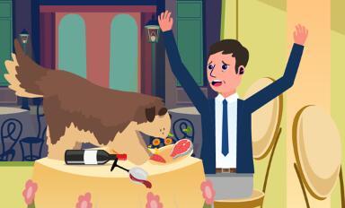 动画片《罗伯特的三次报复行动-布鲁事件》原画分镜头设计