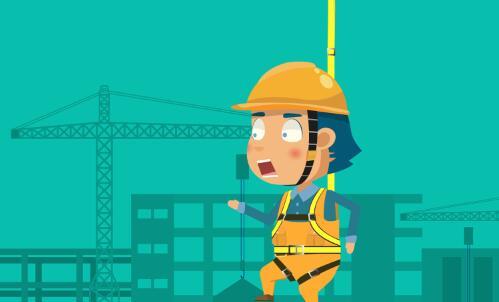 黄鹤楼动画《高处坠落事故》安全教育动画片制作