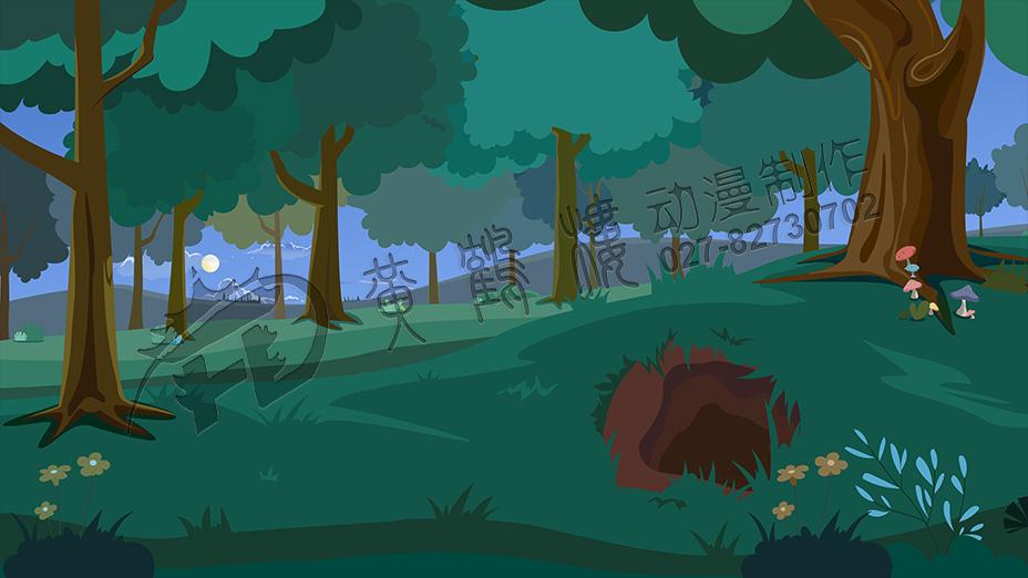教育动画片《了不起的狐狸爸爸-逮住狐狸计划》场景设计三.jpg