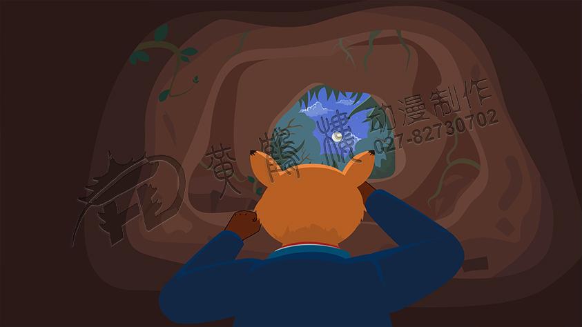 教育动画片《了不起的狐狸爸爸-逮住狐狸计划》动画原画分镜头四.jpg