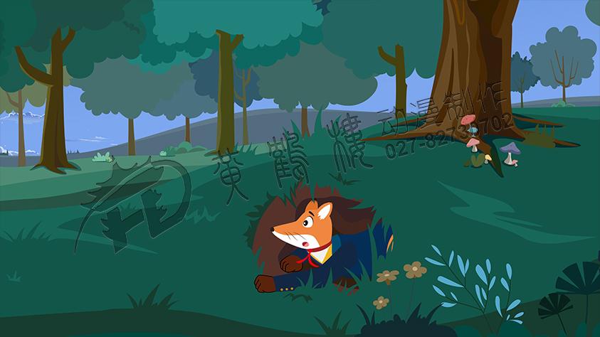 教育动画片《了不起的狐狸爸爸-逮住狐狸计划》动画原画分镜头五.jpg