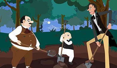 教育动画片《了不起的狐狸爸爸-逮住狐狸计划》动画原画分镜头