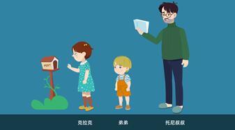 教育动画片《我和小姐姐克拉拉-来信》人物设计公布