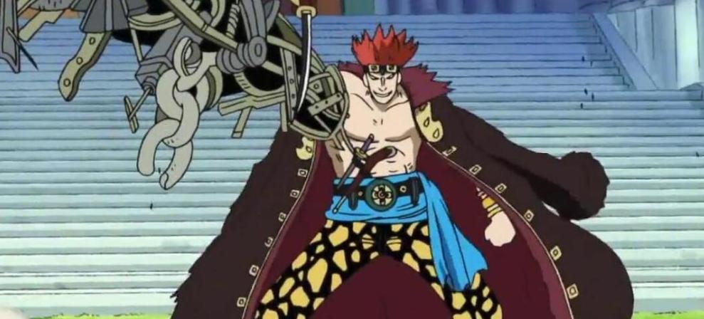 海贼王:基德和甚平一样曾效力于大妈团,大妈的灵魂争夺战开始