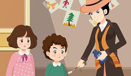 动画片《随风而来的玛丽阿姨-东风》动画分镜头设计制作