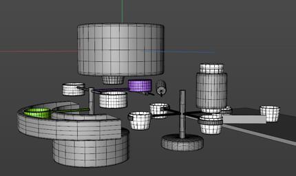 《自动煮面机》工作原理三维动画片制作