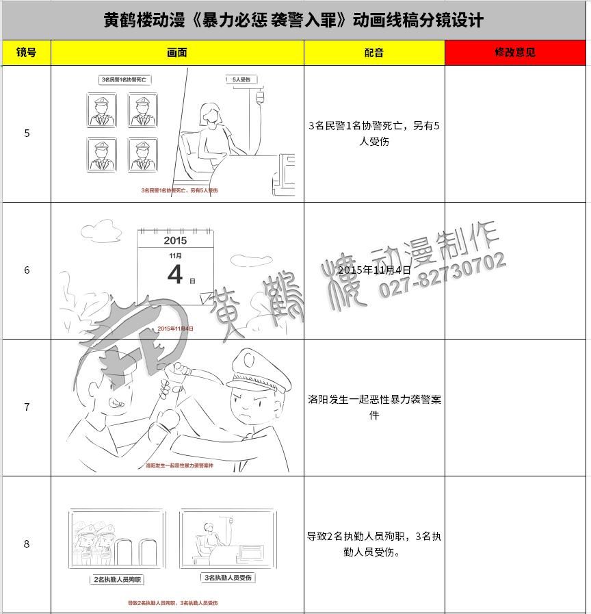 《暴力必惩 袭警入罪》动画线稿分镜设计5-8.jpg