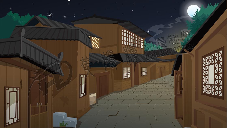 《腰门-夜凉如水》动画片场景设计制作02.jpg