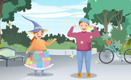 《香草女巫-意外惊喜》动画片分镜头设计制作