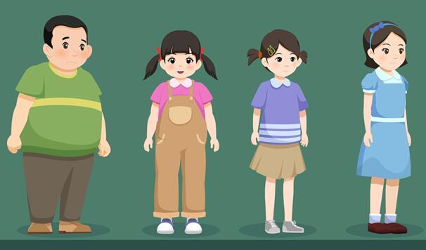 《我要做好孩子》动画片角色设计制作