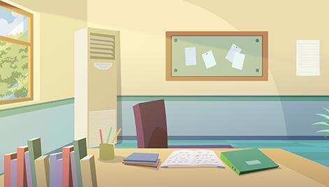 《我要做好孩子》动画片场景设计制作
