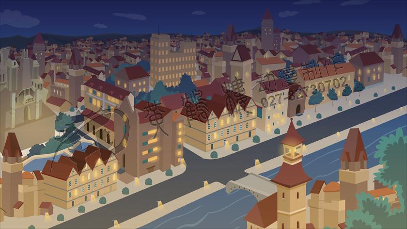 《天蓝色的彼岸》动画片场景设计制作.jpg