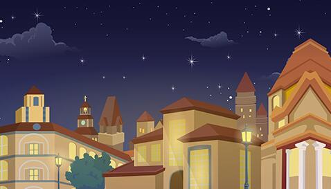 《天蓝色的彼岸》动画片场景设计制作