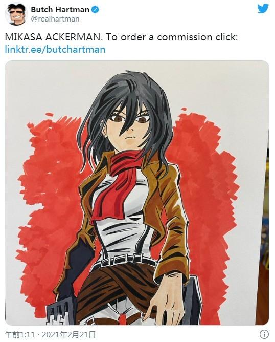 美国画师抄袭日本《进击的巨人》同人画作被曝 画技拙劣还卖200刀