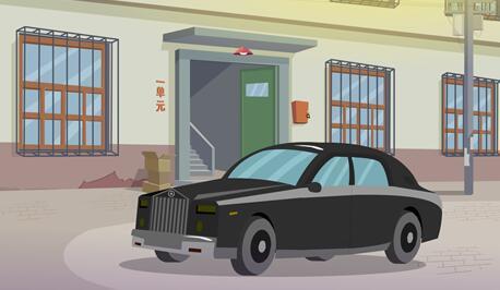 《余宝的世界-爸爸的底线》Flash动画片场景设计
