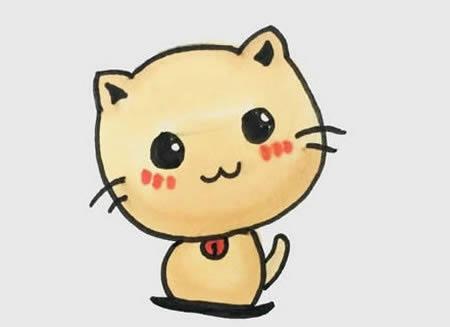 手绘小猫简笔画怎么画呢?