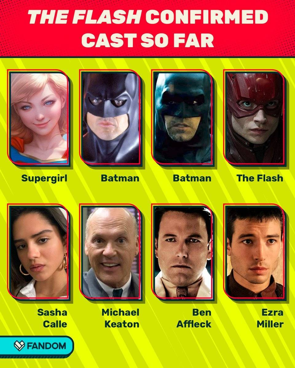 DC《闪电侠》电影开拍 2022年11月上映