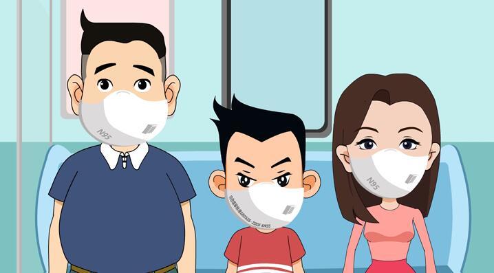 武汉疾病预防《正确预防新型冠状病毒的方法》新冠病毒科普动画片制作