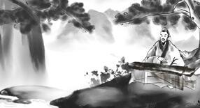 动画成语故事《高山流水遇知音01》 水墨山水动画片