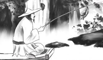 中国风《高山流水遇知音02》水墨动画视频